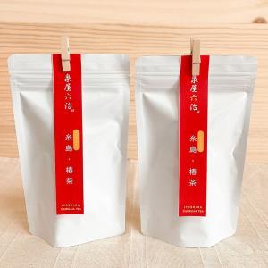 糸島・椿茶 2袋 糸島産椿の葉100%使用【泉屋六治】 manpuku-kyusyu