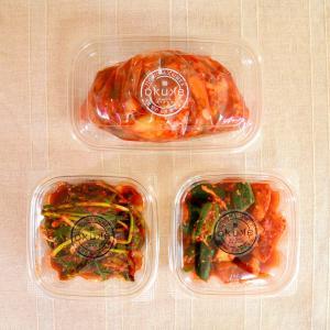 玉家のキムチセットA(白菜、葱、胡瓜&大根)【玉家のキムチ工房】|manpuku-kyusyu
