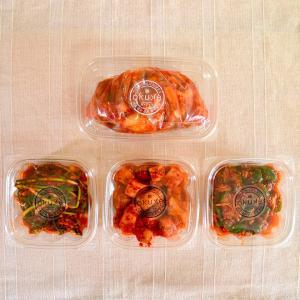 玉家のキムチセットB(白菜、葱、胡瓜、大根)【玉家のキムチ工房】|manpuku-kyusyu