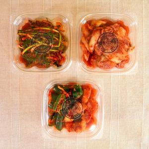 玉家のキムチセットD(白菜、葱、胡瓜&大根)【玉家のキムチ工房】|manpuku-kyusyu
