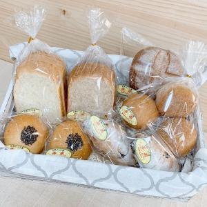 完全無農薬・無科学肥料栽培小麦とブランのパンセット(卵・乳製品不使用)【天然パン工房楽楽】|manpuku-kyusyu