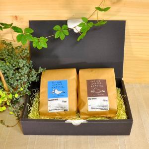 TAISHO COFFEE ROASTER定番ブレンドコーヒー2種セット【TAISHO COFFEE ROASTER】/ 本格焙煎 コーヒー 珈琲 ティータイム 粉|manpuku-kyusyu