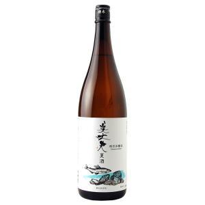 日本酒 地酒 高知 濱川商店(浜川) 美丈夫 特別本醸造 夏酒 1800ml