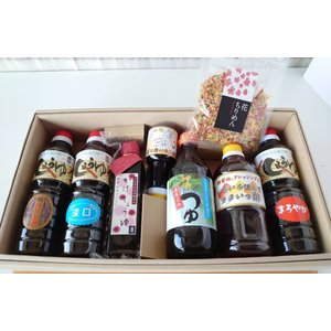 送料無料 特選九州醤油、うまいっ酢、花ちりめん他|manryo-store