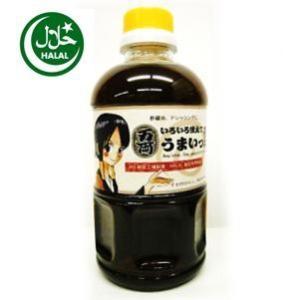 ハラルいろいろ使えてうまいっ酢500ml(お両ちゃんラベル)Umaissu Ponzu,Any idea,Soy sauce with vineger|manryo-store