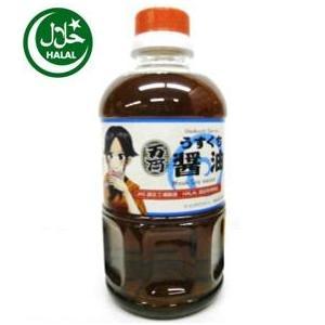 ハラル万両うすくち醤油500ml(お両ちゃんラベル)Usukuchi Shoyulight-colored soy sauce|manryo-store