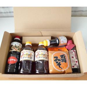 送料無料 かけ醤油とお味噌詰合せ|manryo-store