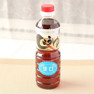 しょうゆ うすくち醤油 JAS標準 500ml|manryo-store