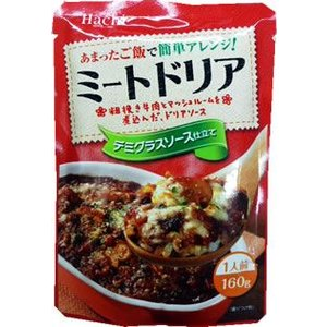 Hachi ミートドリア 160g ケース販売(24袋入)|manryo