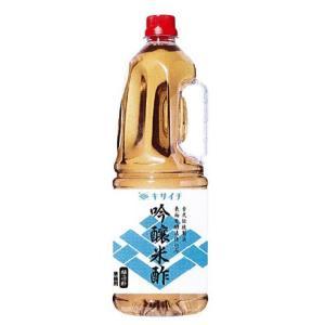 ★寿司職人用 シャリ酢★ キサイチ 吟醸米酢(醸造酢) プラボトル1.8L×6本|manryo