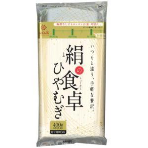 はくばく 絹の食卓 ひやむぎ 400g×12入 1ケース【無料包装・のし対応可能】|manryo