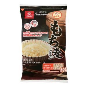 はくばく もち麦 800g (チャック付)x12袋(2ケース) ※大麦のもち品種です|manryo