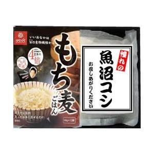 【化粧箱入り のし対応可】もち麦(50gx12袋)と 新潟県魚沼産こしひかり300gx2袋 セット|manryo