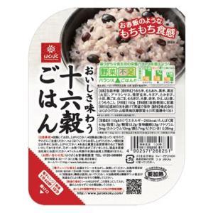 『十六穀ごはん』150g  レトルトごはん 1ケース(6パック)販売 バランスの良い雑穀入りパックごはん|manryo