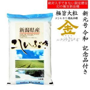 【記念品付き】北陸 越後の米 30年産新潟県産こしいぶき 白米10kgx1袋 manryo