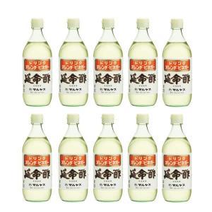 みかんの酢 マルヤス 延命酢 500ml x 10本 (1ケース)|manryo