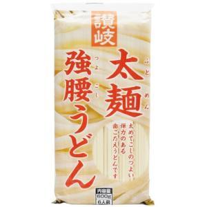 さぬきシセイ 「讃岐太麺強腰うどん」 6人前(600gx20袋入)1ケース【無料包装・のし対応可能】|manryo