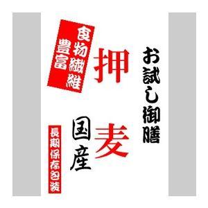 【投函便】 押麦 900gパック(長期保存包装済み)|manryo