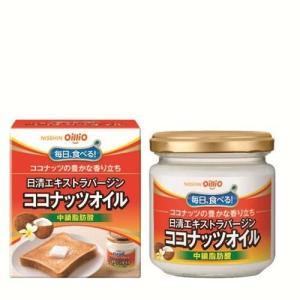 日清 エクストラバージンココナッツオイル(中鎖脂肪酸) 130gx12本 (1ケース)安心の国内充填|manryo