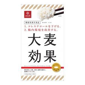 βグルカンのパワー!! はくばく「大麦効果」1ケース((60gx6)x6袋) 機能性表示:コレステロールを下げる/腸内環境を改善|manryo