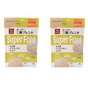 【投函便】はくばく スーパー三穀ブレンド(もち麦・アマランサス・キヌア) 250gx2袋 manryo