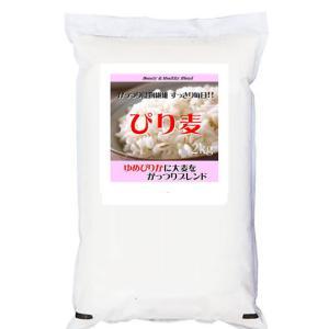 ゆめぴりかにがっつり大麦をブレンドした「ぴり麦」2kg (長期保存包装済み)|manryo