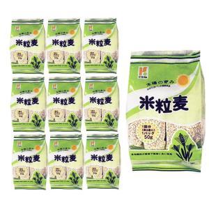 協和精麦 米粒麦 スタンドパック (50gx12スティック)x10袋 (1ケース)|manryo