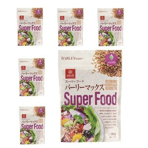 はくばく スーパーフード バーリーマックス 180g x 6袋(1ケース) もち麦を超える食物繊維!! manryo