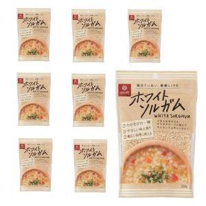 はくばく ホワイトソルガム(たかきび) 300g x 8袋(1ケース) グルテンフリー食品|manryo