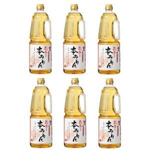 ★業務用★サンフーズ 本みりん 御勅使 もち米100%使用 ペットボトル1.8L×8本|manryo