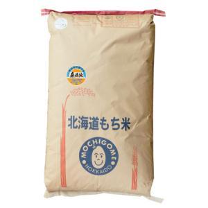 【無洗米】もち米 29年産北海道産はくちょうもち 精米30kg manryo