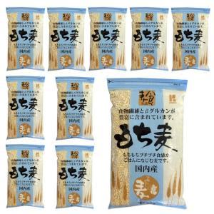 国産(長野県産ほか) もち麦 800gx10袋(1ケース)  ※大麦のもち品種です|manryo