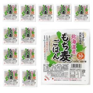 もち麦 ごはん パックご飯 北海道産ゆめぴりかと北海道産もち麦30% 180g×12|manryo|02