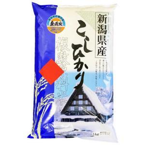 無洗米 5kg 新潟県産コシヒカリ ブレンド 万糧米穀 無洗米|manryo