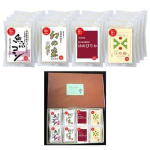 人気ブランド無洗米2合パックのギフトシリーズ4種(300gx各4袋) 化粧箱入 のし対応可|manryo