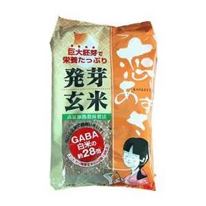 【送料無料】あずさ発芽玄米の巨大胚芽発芽玄米 『恋あずさ』 ケース売り(1ケースに6袋入っています) (一部離島は送料無料対象外)|manryo