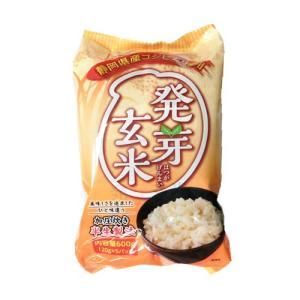 半生発芽玄米 静岡県産コシヒカリ 600g (120gx5) 6袋 (1ケース)|manryo