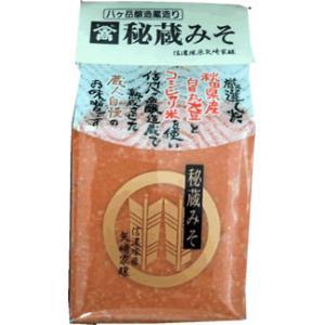 山高 「秘蔵みそ」 1kg 秋田県産白目丸大豆・コシヒカリ米・八ヶ岳天然水使用|manryo
