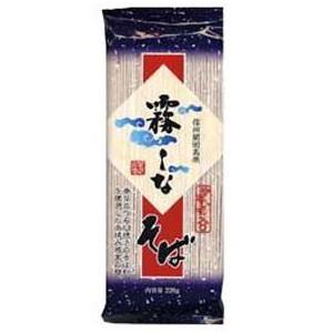 はくばく 霧しなそば (つゆなし) 220gx8袋 1ケース【無料包装・のし対応可能】 manryo