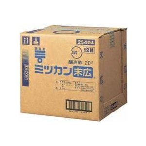 ミツカン 末広 キュービー1缶(20L)|manryo