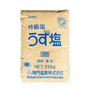 鳴門 特級塩 うず塩 25kg|manryo