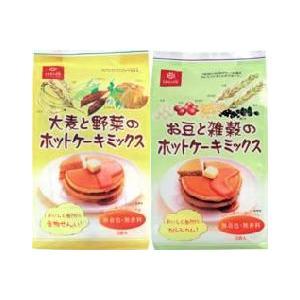 大麦と野菜のホットケーキミックス(150gx2袋)x3袋お豆と雑穀のホットケーキミックス(150gx2袋)x3袋|manryo