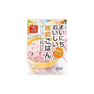 豆なし十六穀ごはん『まいにちおいしい雑穀ごはん』25gx6袋|manryo