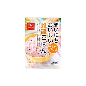 豆なし十六穀ごはん『まいにちおいしい雑穀ごはん』25gx6袋 ケース販売(6袋入)|manryo