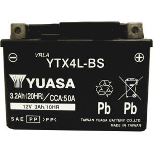 バイク バッテリー YTX4L-BS ユアサ 台湾YUASA ( YT4L-BS FT4L-BS C...