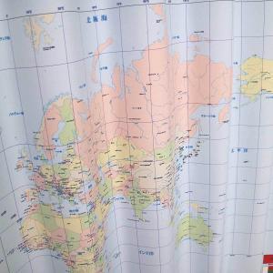 【満天カーテン】遮光カーテン 2枚組 キッズ 男の子 女の子 大迫力イラストカーテン!世界地図&国旗 恐竜 うさぎ アニマル 海のともだちがカーテンに★ manten-curtain 05