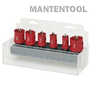 HSSバイメタルホルソー6pcsセット 六角軸 チップホールソー ホルソー工具 ホールソー|manten-tool