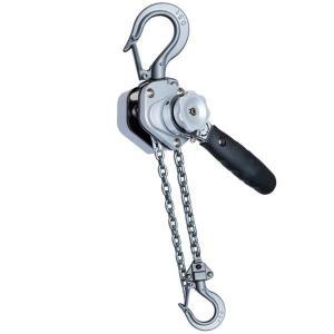 アルミ合金鋼製レバーホイスト0.5ton レバーブロック ワイヤー荷締め機 ラチェットホイスト|manten-tool