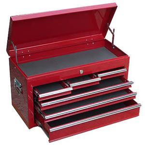チェストベアリング付 赤 ツールボックス ツールチェスト 工具箱|manten-tool