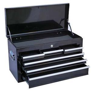 チェストベアリング付 黒 ツールボックス ツールチェスト 工具箱|manten-tool